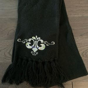 (3 for $25) Black Dereon Womens Scarf